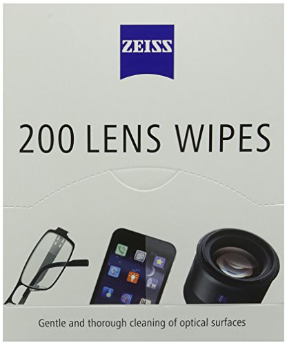 ZEISS Lens Wipes - Pack of 200 Test