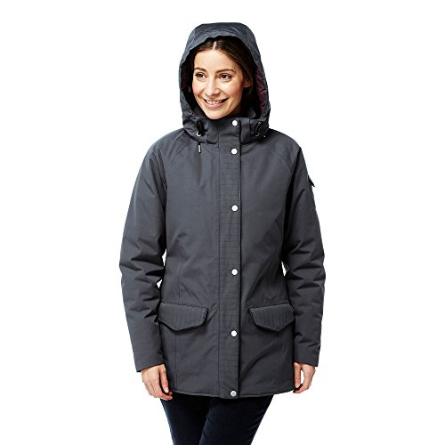 Craghoppers - Giacca invernale impermeabile - Donna Carbone