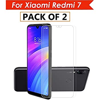 WOW Imagine (Pack of 2) Unbreakable Nano Film Glass [ Flexible Like a Screen Guard, Harder Than a Tempered Glass ] Screen Protector for Xiaomi Redmi 7