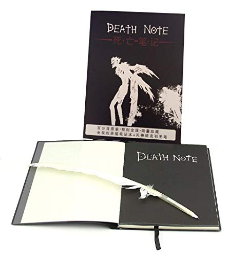 e - Notizbuch Della Morte - Piuma Bianca - Cosplay - Light Yagami - Premium Qualität ()