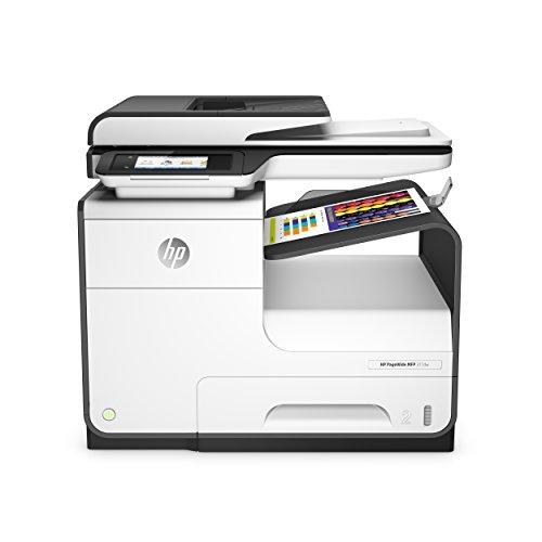 HP PageWide 377dw Multifunktionsdrucker (Drucker, Scanner, Kopierer, Fax, Duplex, WLAN, Netzwerk, ePrint, Airprint, Cloud Print, USB, 2400 x 1200 dpt) weiß