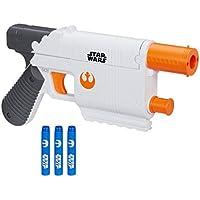 Nerf - B3970 -  Disney Star Wars The Force Awakens Toy - Rey Jakku Nerf Dart Blaster with 4 Darts