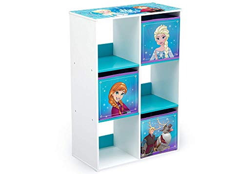 Familie24 Spielzeugregal Auswahl Cubby Regal Kinderregal Spielzeugkiste Wandregal Toy Box Spielzeugkiste (Frozen)