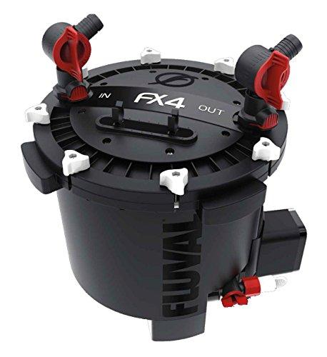 Fluval A214 FX4 Hochleistungsaußenfilter für Aquarien, 1000 Liter, schwarz