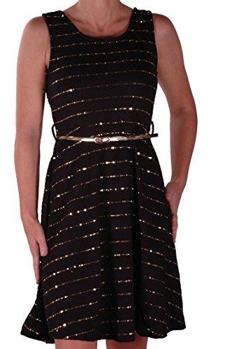 womens-sleeveless-glitter-embedded-dress-one-size-black