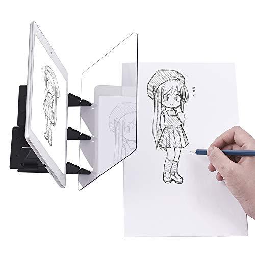 Aibecy Tablero de rastreo óptico portátil Panel de...
