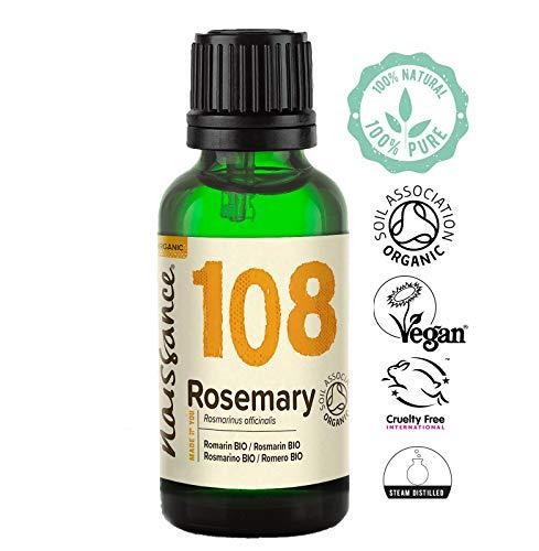 Naissance Huile Essentielle de Romarin Certifiée Bio (n° 108) - 30ml - 100% Pure et...