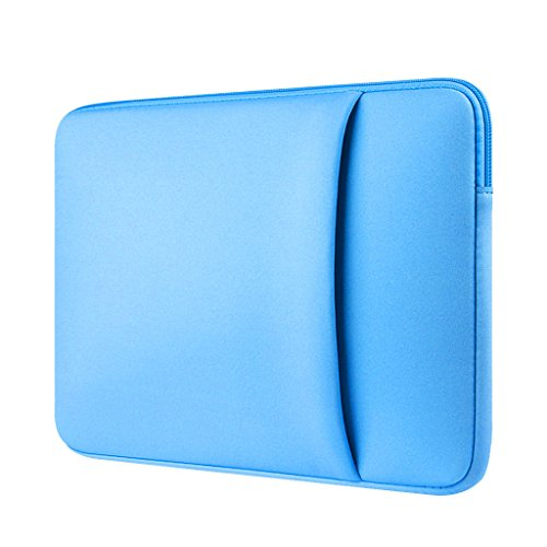 Funda Blanda para 13 '' Ordenador Portátil Macbook Mac Air / Pro / Retina Color Azul Celeste