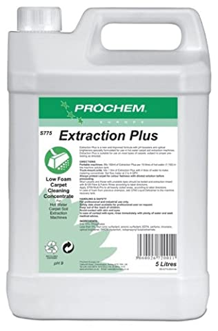 Prochem Extraction Plus Professional Concentrate Carpet Cleaning Solution 5L