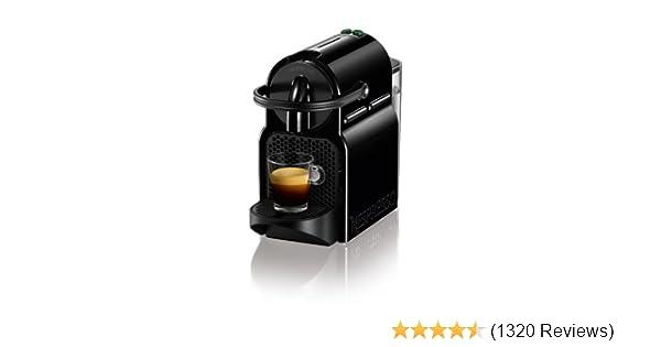 Nespresso inissia coffee machine black by magimix amazon