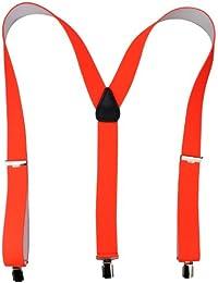 Bretelles de haute qualité avec Clips fort de 35mm   noir bleu royal rouge blanc gris