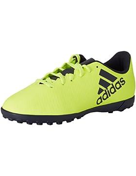 Adidas X 17.4 TF J, Botas de Fút