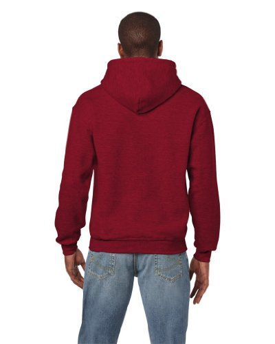 Gildan - Unisex Kapuzenpullover 'Heavy Blend' , Antique Cherry Red, Gr. L