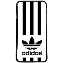 Carcasas de moviles fundas de movil de TPU compatible con samsung galaxy note 8 adidas marca deporte logotipo rallas