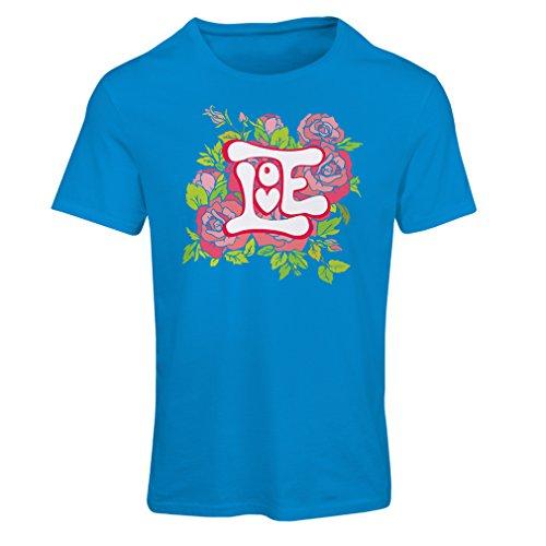 """Frauen T-Shirt """"Lieb mich""""– VALENTINSTAG Geschenkideen für Verliebten Blau Mehrfarben"""