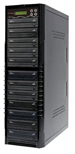 Copystars Dvd Duplikator Disc Kopier Station mit integrierter CD DVD Brenner (1 bis 11)