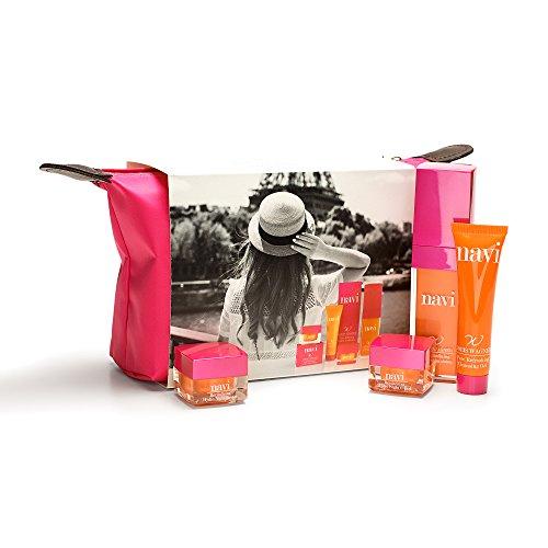 NAVI Neceser Viaje / Set de belleza & Cremas faciales mujer / Kit Hidr