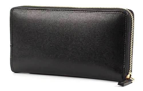 LA MARTINA La Portena Long Size Wallet With Zipper Black Black (Noir)