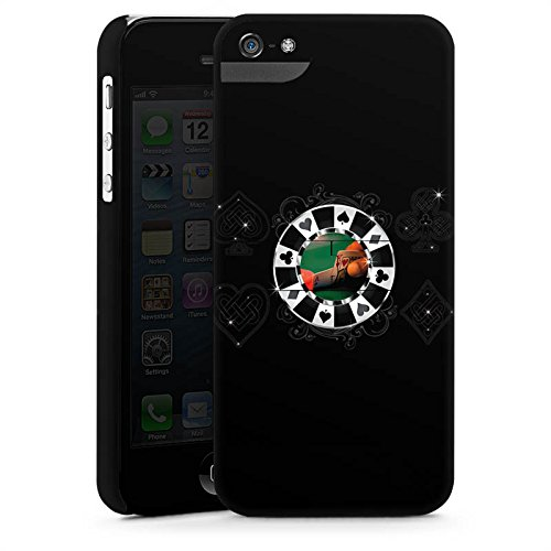 Apple iPhone X Silikon Hülle Case Schutzhülle Poker Chip Herz Premium Case StandUp