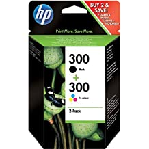 HP 300 2-Pack negro/Tri-color cartuchos de tinta originales