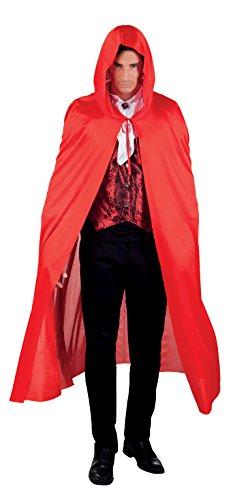 Verkleiden Zug Kostüm - Umhang mit Kapuze Wächter der Nacht 180 cm