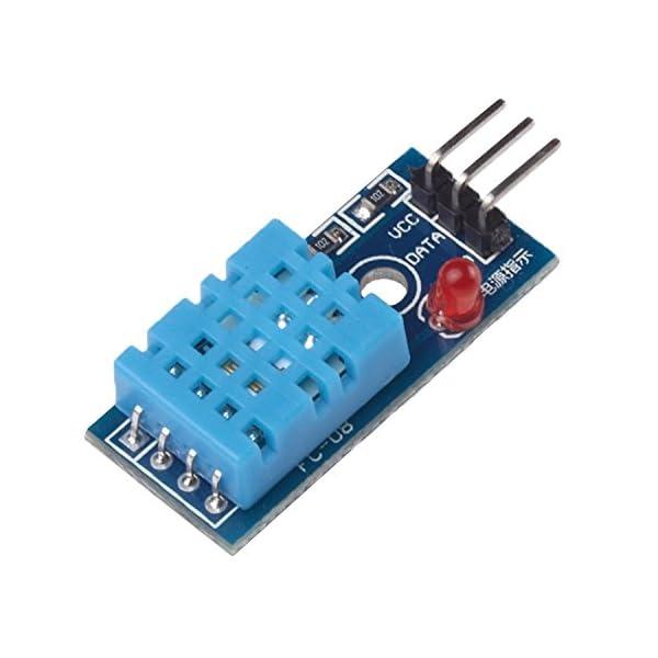 41ylfOo2wHL. SS600  - Ecloud Shop® Nueva Temperatura y Humedad Relativa Módulo Sensor DHT11 para Arduino