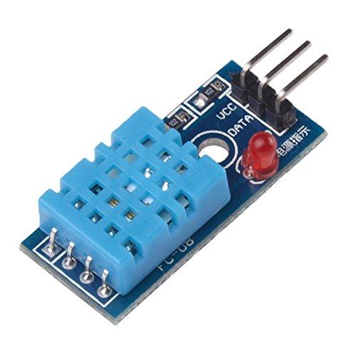 41ylfOo2wHL - Ecloud Shop® Nueva Temperatura y Humedad Relativa Módulo Sensor DHT11 para Arduino