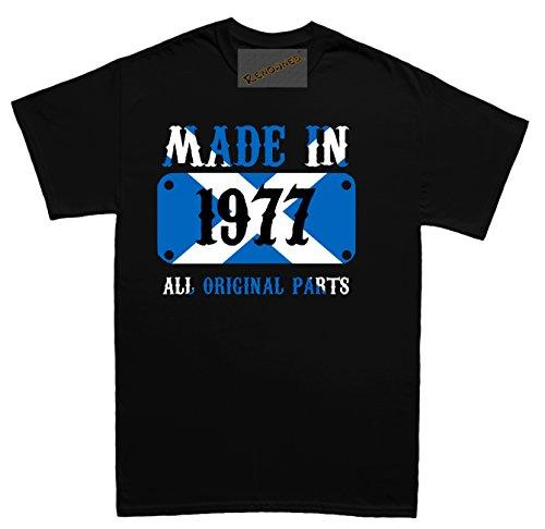 Renowned Made in Scotland in 1977 all original parts Unisex - Kinder T Shirt Schwarz