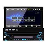 EINCAR Car Stereo Audio Einzel Din, 7 Zoll-Digital-LCD Monitro, Touchscreen, DVD/CD / MP3 / USB/SD/AM/FM, drahtlosen Fern, Bluetooth, Multi-Color Illumination mit kostenlosem 8GB Karten-Kar