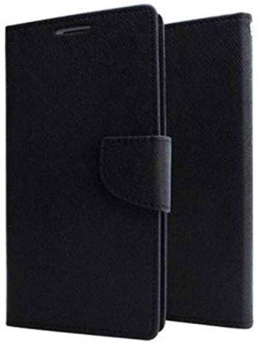 DIVERTS Flip Cover for Samsung Galaxy J5 Black (2015)