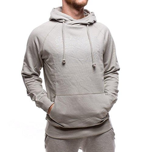 Onitsuka Tiger felpa Hoodie Light Grey, grigio chiaro , L
