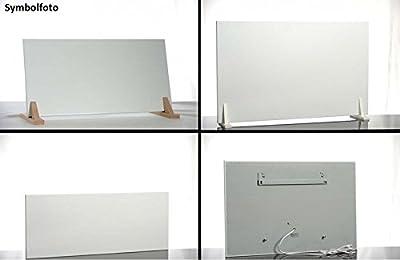 Infrarot Heizsystem Easy Modelle + Wandhalterung mit Kabel und Stecker 200-450W, Ausführung:600x900mm 450W von Elbo therm auf Heizstrahler Onlineshop