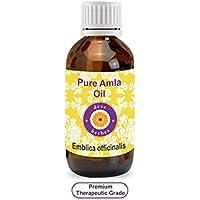 Aceite puro de amla (emblica officinalis) 100 % natural de Deve Herbes, prensado