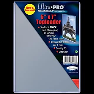 25 Ultra Pro 5 x 7 Premium Toploader Top Loader - Photo Card Holder Foto Halter