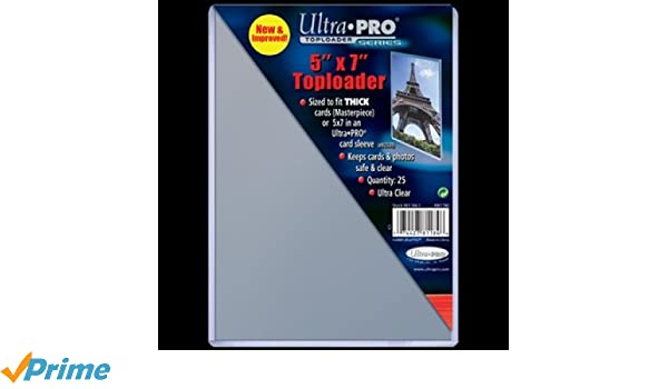 Mad al ultra pro tobacco size toploader ct pack hobby