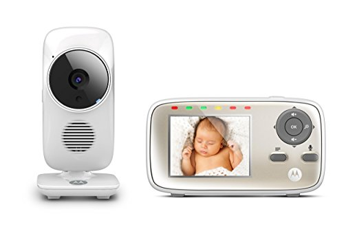 Motorola MBP483 Digital Video Monitor 2.8″ Colour LCD Display Featuring Night Vision On Babies Monitor,Two Way Talk Back,Room Temperature Monitor And Lullabies