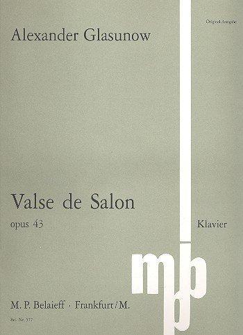 Valse de Salon C-Dur: op. 43. Klavier.