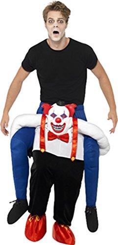 alloween Party Circus Böser Clown Schweinchen Rücken Kostüm ()