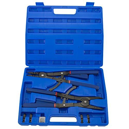 hiltex 0201640,6cm Snap Ring Zange Set, 2Stück | Externe und interne Zange | gerade, 45°, 90° TIPPS -