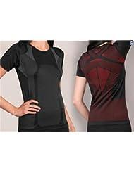 Damen Sport Funktionswäsche Hemd kurzarm - Ski Unterwäsche mit Elasthan von normani®