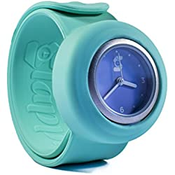 Original Slappie Green Lilac Slap Watch (BBC Dragons Den Winner) Adults/Kids Size Small