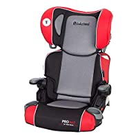 Baby Trend Yumi 2-In-1 Folding Booster Car Seat, Red