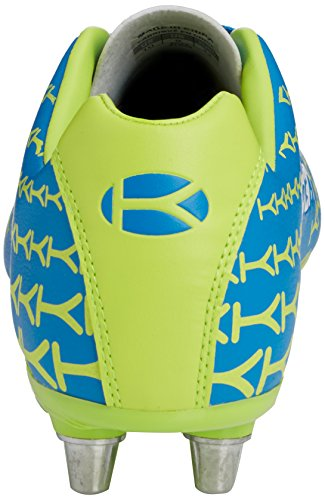 Kooga Control, Chaussures de Rugby Homme Bleu (blue/lime)