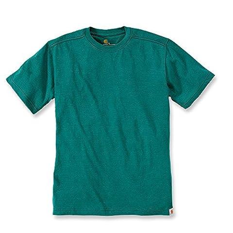 Carhartt T-Shirt Maddock Non Pocket, Größe:S, Color:alpine heather