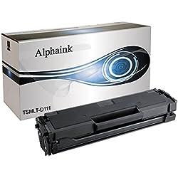 Alphaink AI-MLT-D111-18- Tóner para Samsung Xpress M2022,M2026,M2070,M2020, con capacidad para 1800copias