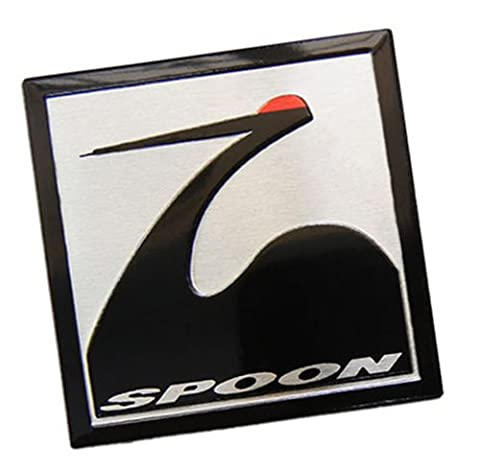 SPOON SPORTS SQUARE Emblem Badge Nameplate Decal Rare for Honda Acura Type R Type-r TYPE-S S GT Civic Integra Si CRZ CRX GSR Prelude Accord NSX RS LS GS CRV CR-V CRZ CR-Z TSX Element Fit S2000 JDM80 81 82 83 84 85 86 87 88 90 91 9293 94 95 96 97 98 00 01 02 03 04 05 06 07 08 09 10 11 12 13 1980 1981 1982 1983 1984 1985 1986 1987 1988 1989 1990 1991 1992 1993 1994 1995 1996 1997 1998 1999 20 2001 2002 2003 2004 2005 2006 2007 2008 2009 2010 2011 2012 2013