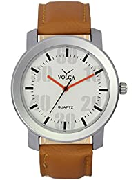 VOLGA White Casual/Sports Analog Dial Wrist Watch For Mens/Boys