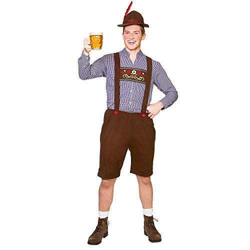 Größe Kostüm Oktoberfest Plus - Unbekannt Oktoberfest Set Plus Size for Fancy Dress Costume