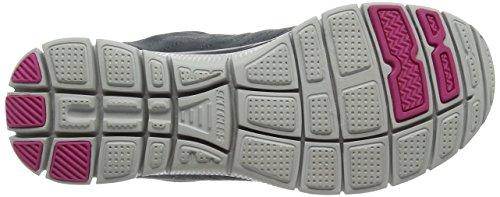 SkechersFlex AppealCasual Way - Sneaker donna Grigio (CHAR)