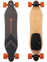 Skate MAXFIND électrique avec télécommande sans fil, 12,1lbs Longboard électrique avec moteur à double concentrateur